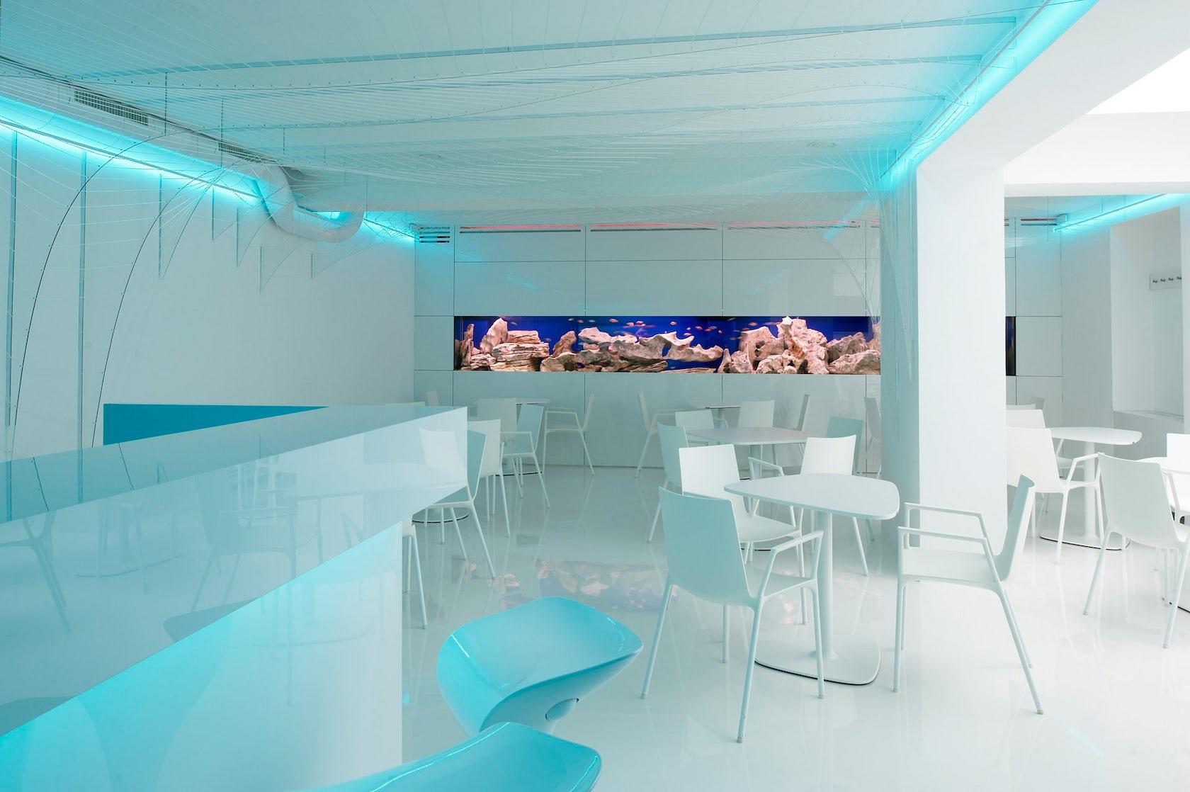 bar aquarium architizer. Black Bedroom Furniture Sets. Home Design Ideas