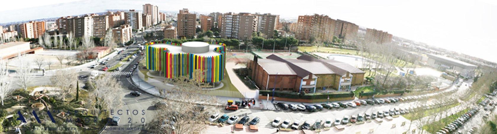 Office center for sport proyecto de oficinas para el for Oficina qualitas auto madrid