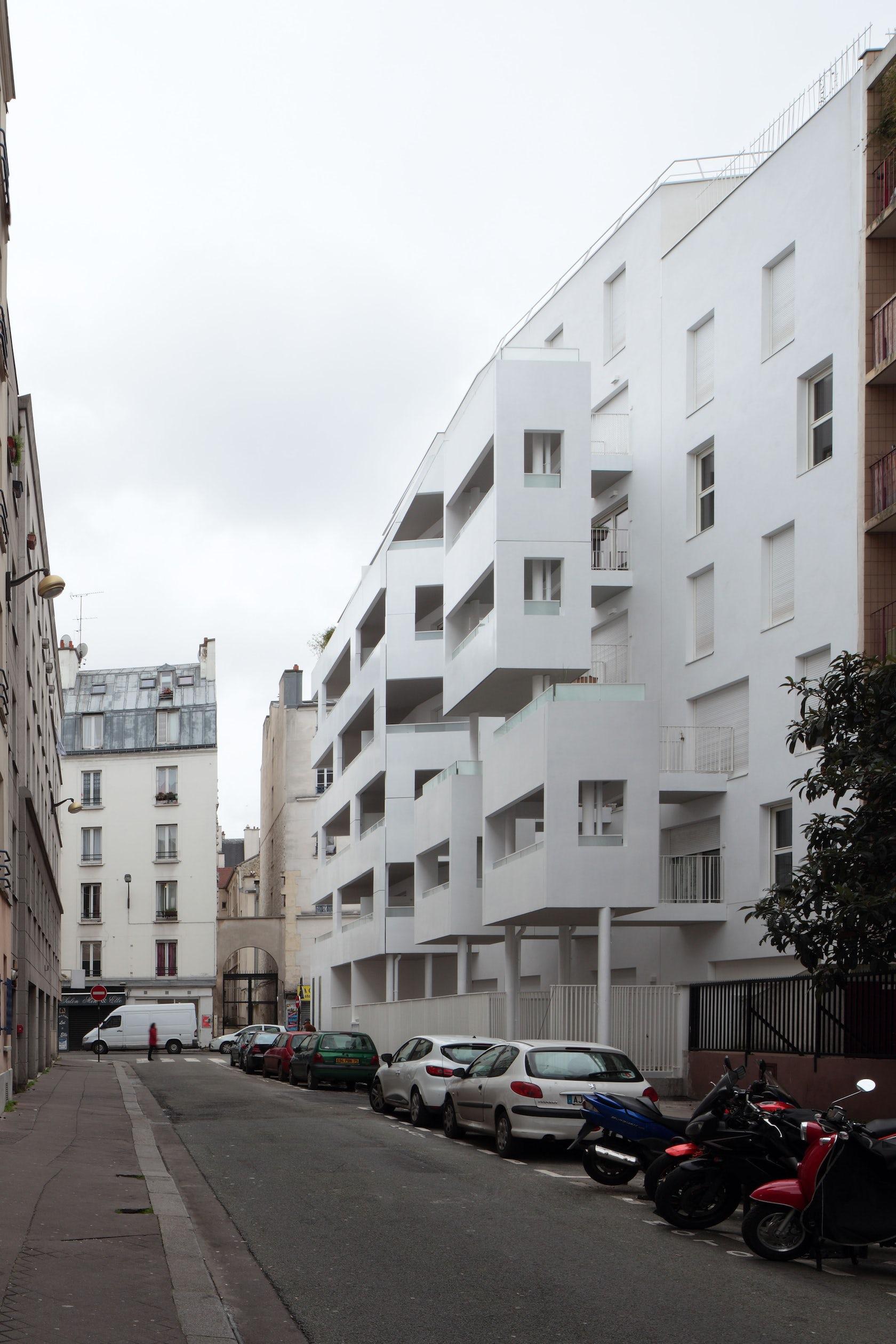 Rue de meaux architizer for Garage rue de meaux vaujours
