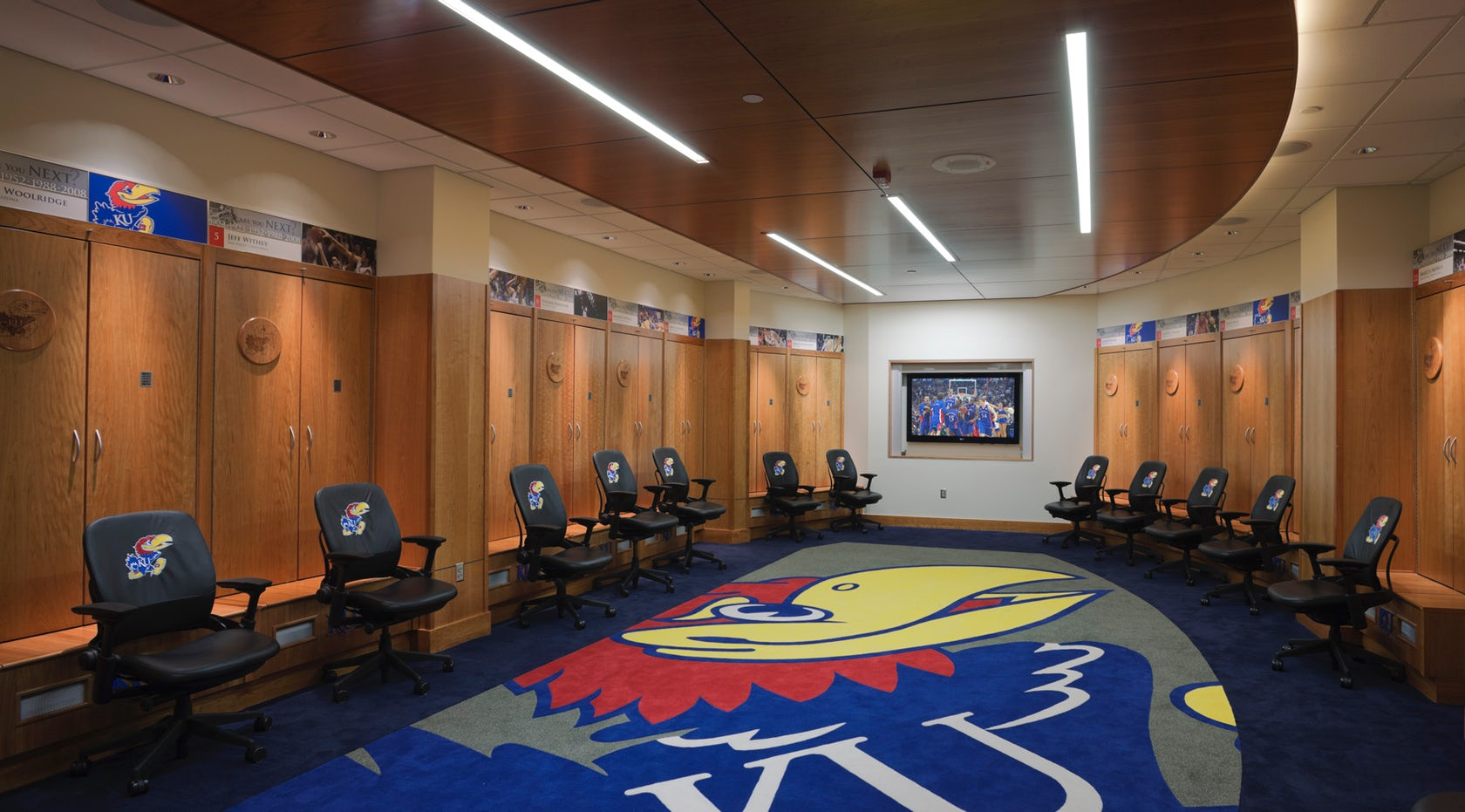 The University of Kansas Allen Fieldhouse and Athletic ...