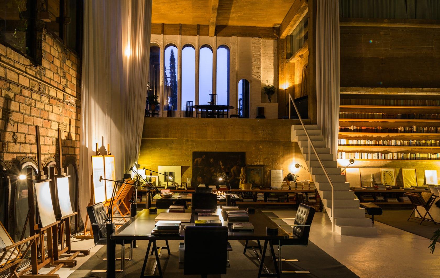 ricardo bofill taller de arquitectura headquarters architizer. Black Bedroom Furniture Sets. Home Design Ideas