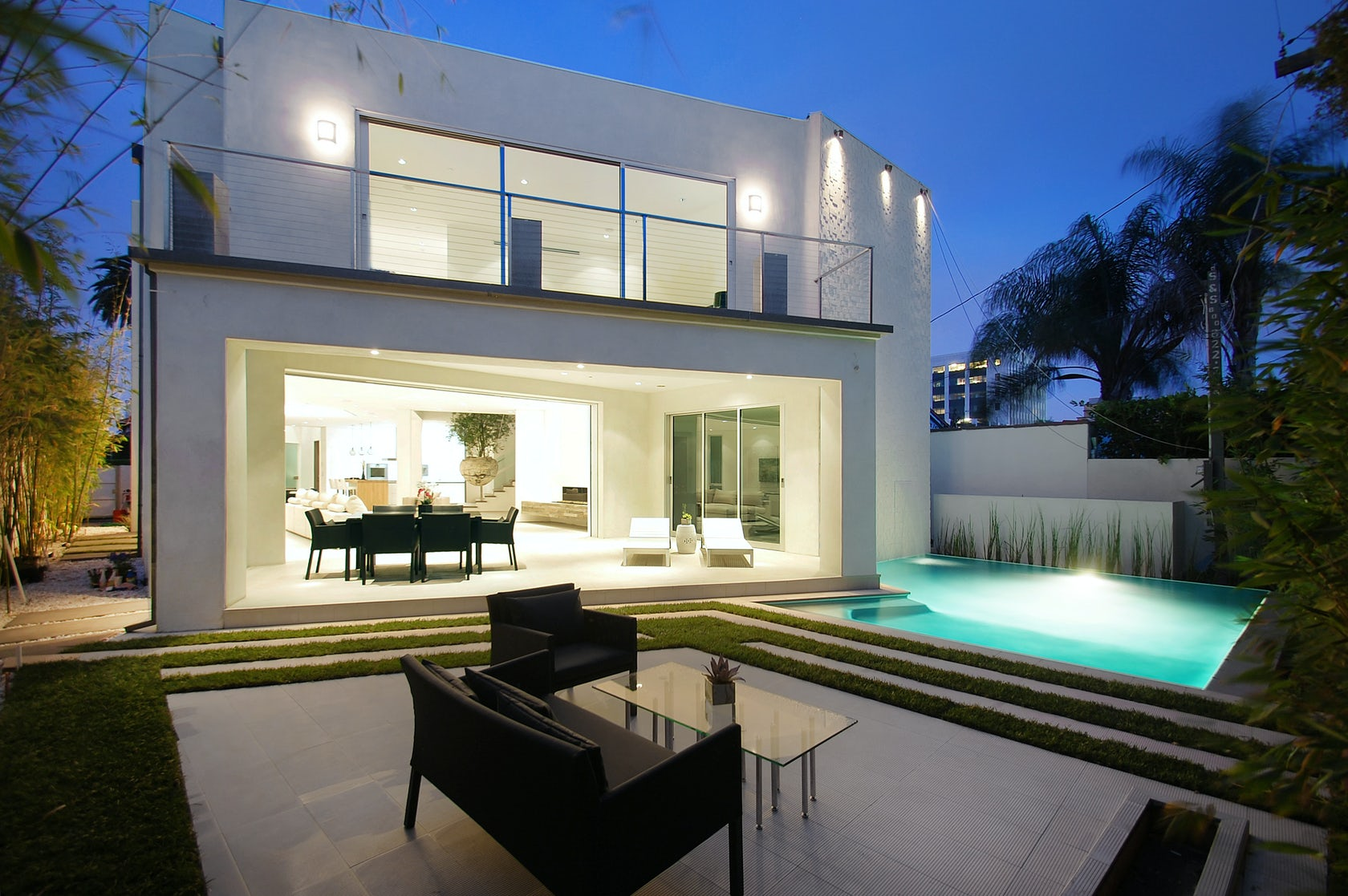 631 s mansfield ave architizer for Casas modernas los angeles