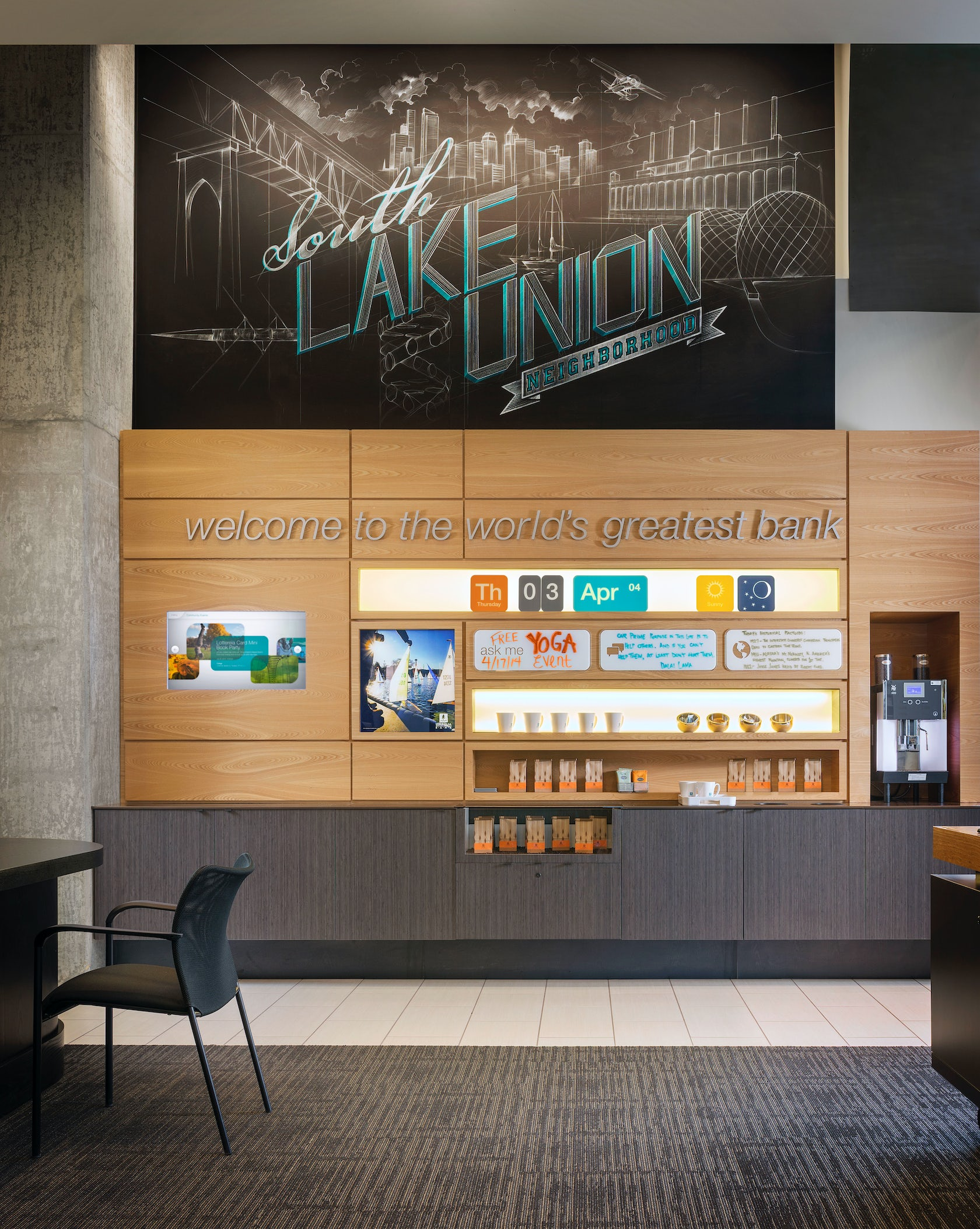 Umpqua bank south lake union architizer - Interior design jobs washington state ...