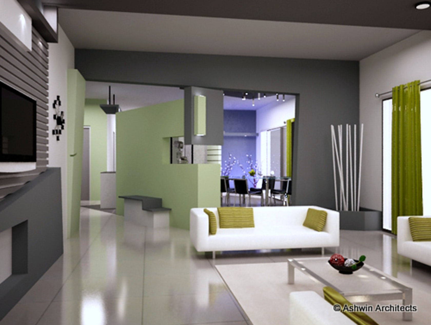 Apartment interior design madhu 39 s home in bangalore for Interior designs in bangalore