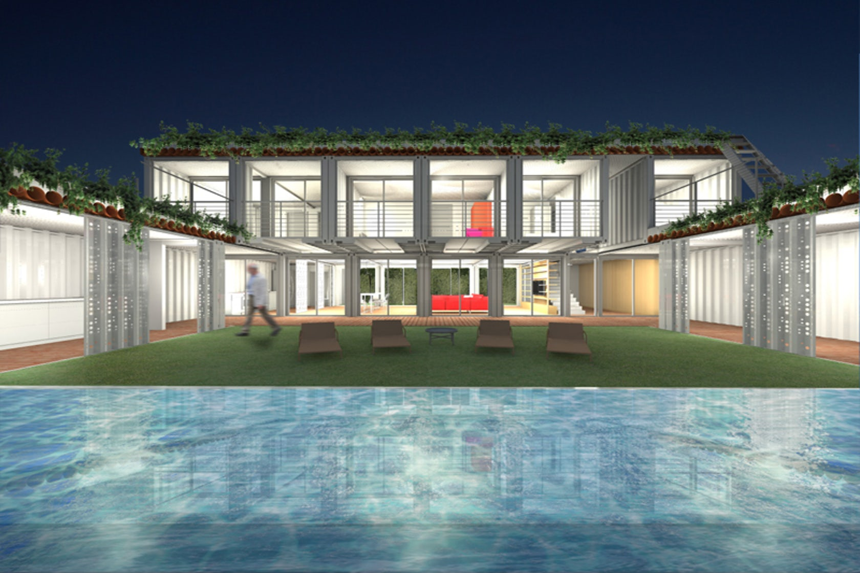 Container house architizer - Container homes miami ...