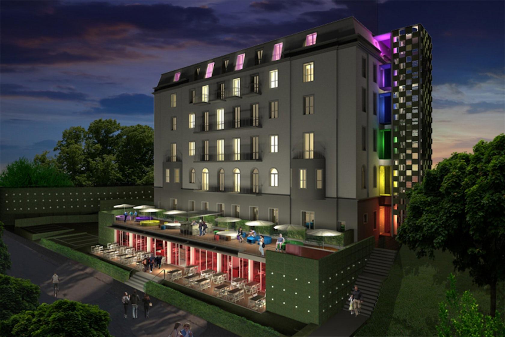 Hostel link architizer for Design hostel milano