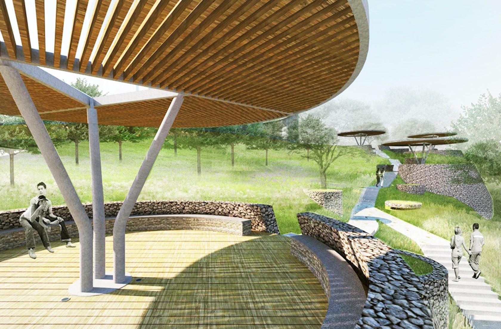 Vanke guiyang landscape architizer for Mtr landscape architects