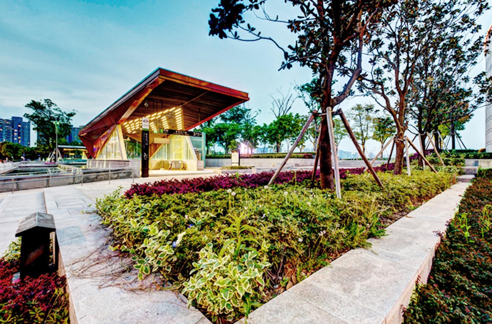 Suzhou jinji lake mtr architizer for Mtr landscape architects