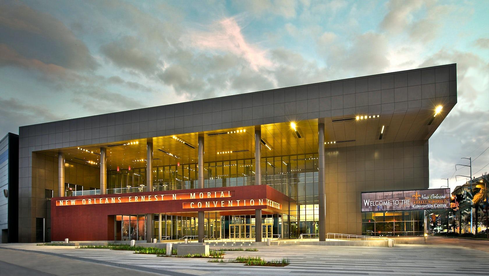 new orleans ernest n morial convention center renovation. Black Bedroom Furniture Sets. Home Design Ideas