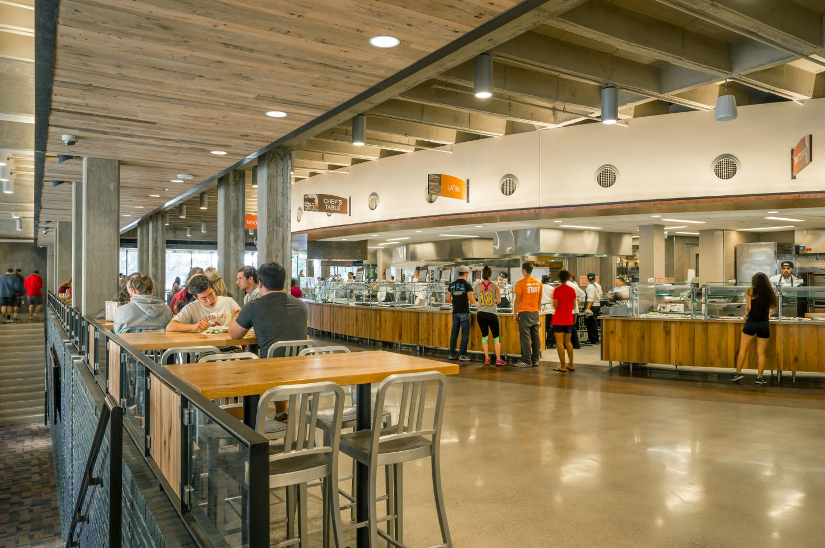 Hampshire dining commons at umass amherst architizer for College street motors amherst ma