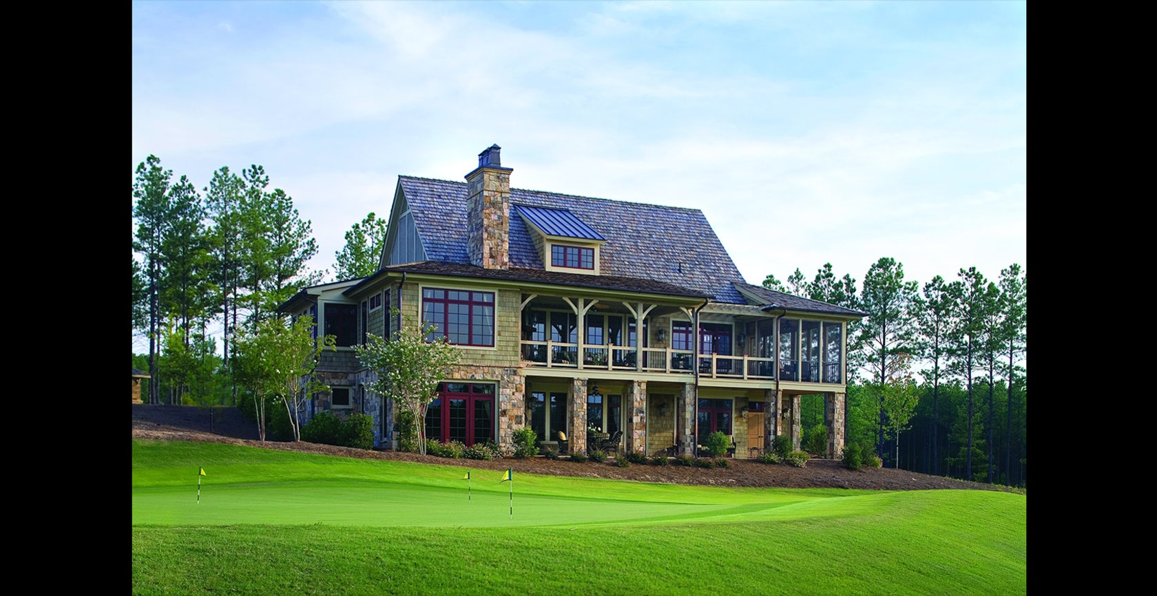 Creek Club Cottage Reynolds Plantation Ga Architizer: custom cottage homes