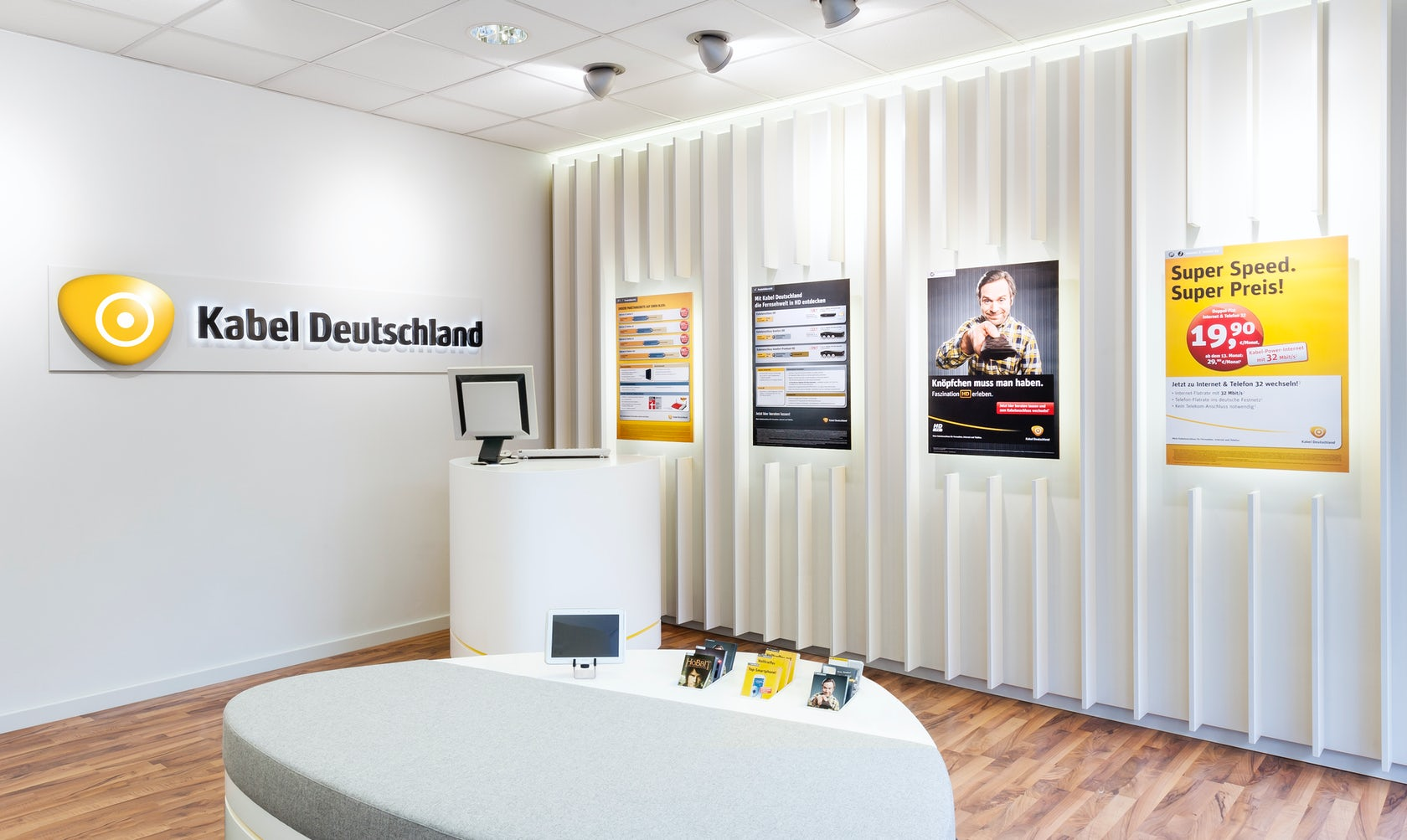 retail design kabel deutschland architizer. Black Bedroom Furniture Sets. Home Design Ideas