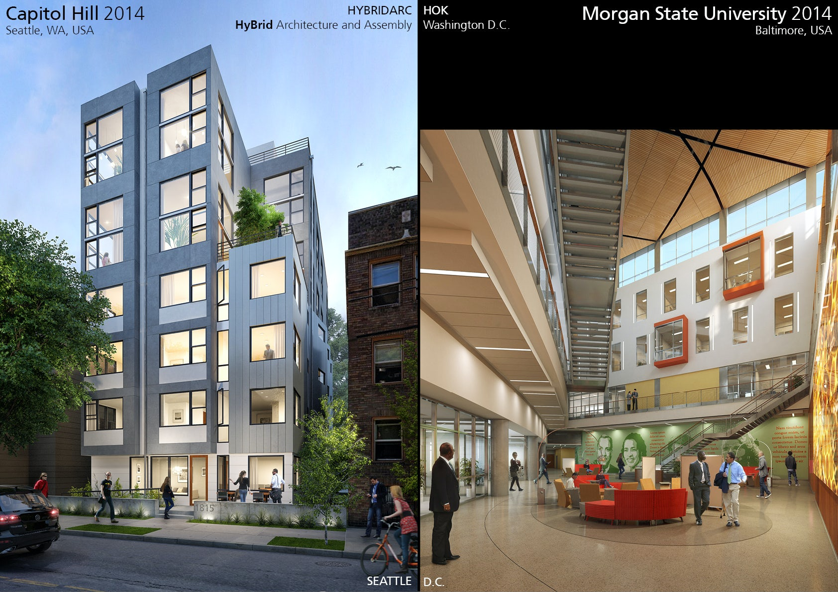 Projects in the USA - Seattle & DC - Architizer