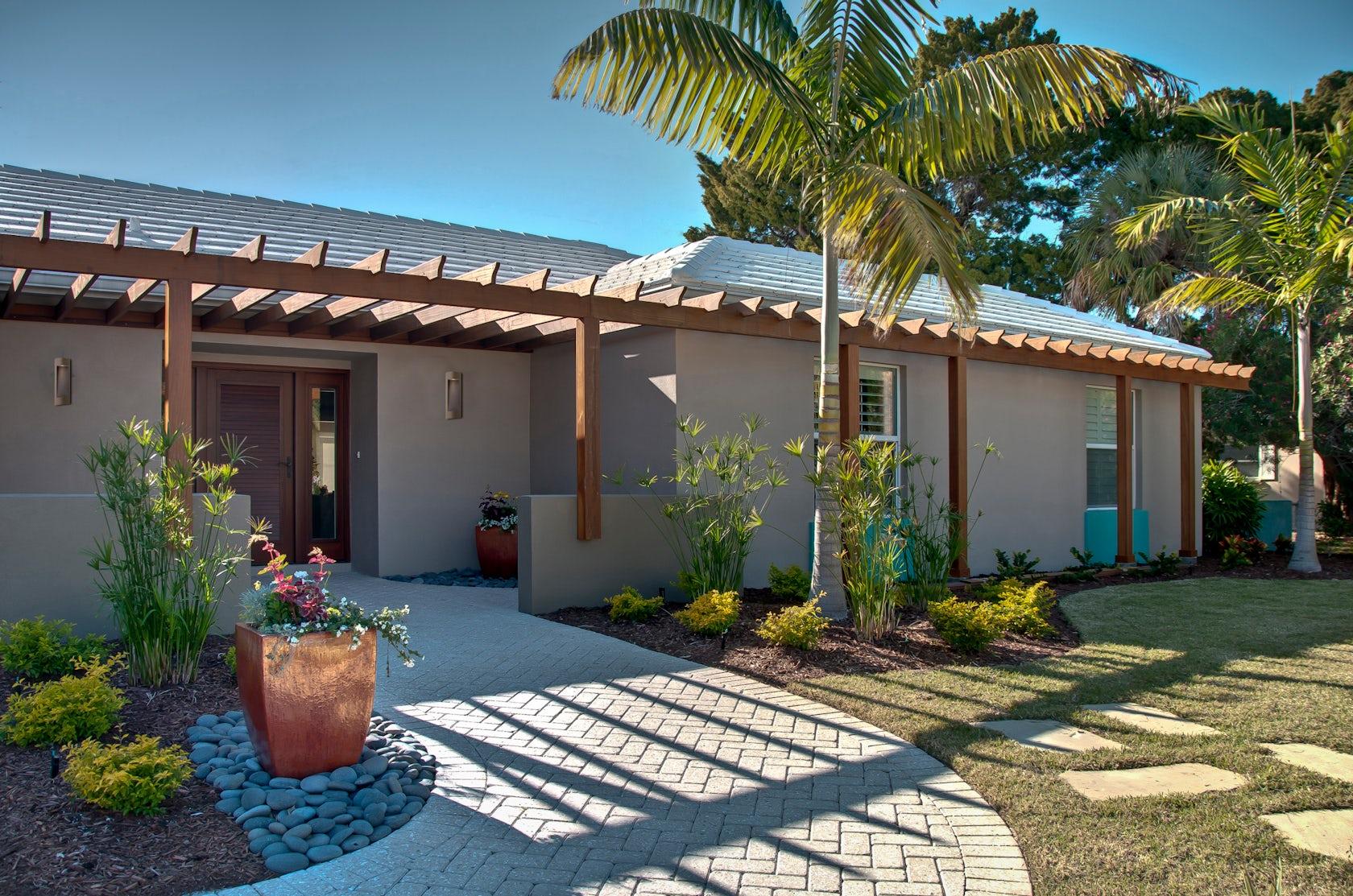 Florida Ranch Exterior Renovation Architizer