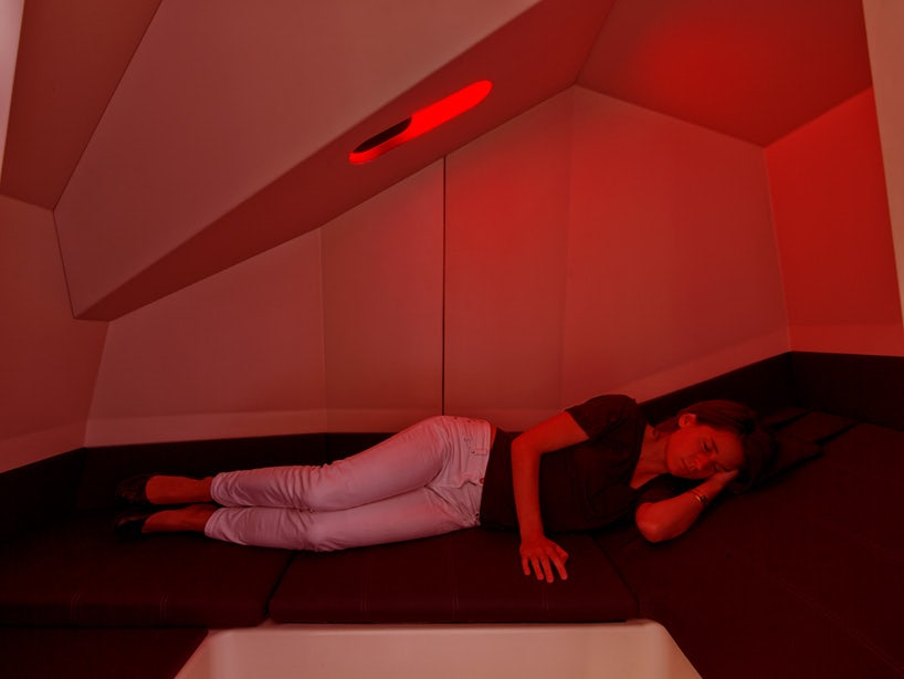 Bliss Out With Calmspace the fice Pod for Power Naps Architizer