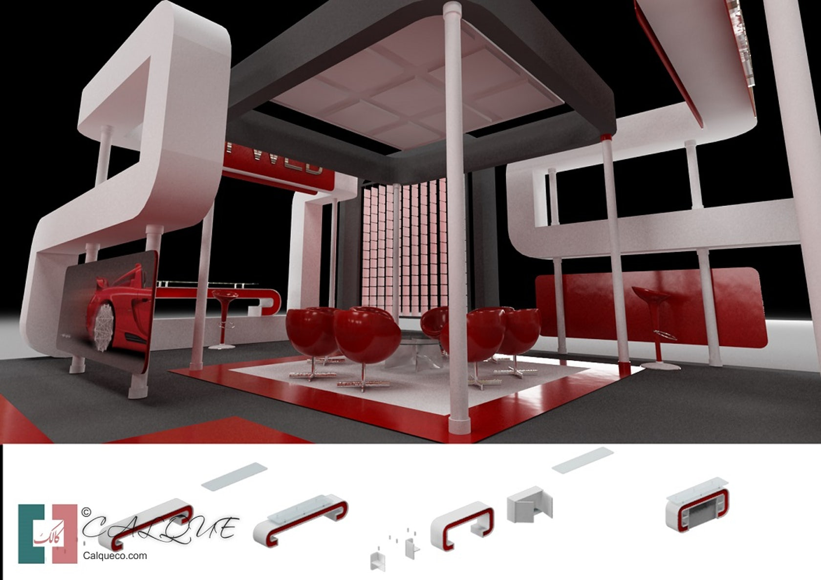 Exhibition Stall Icon : Exhibition stall portable architizer