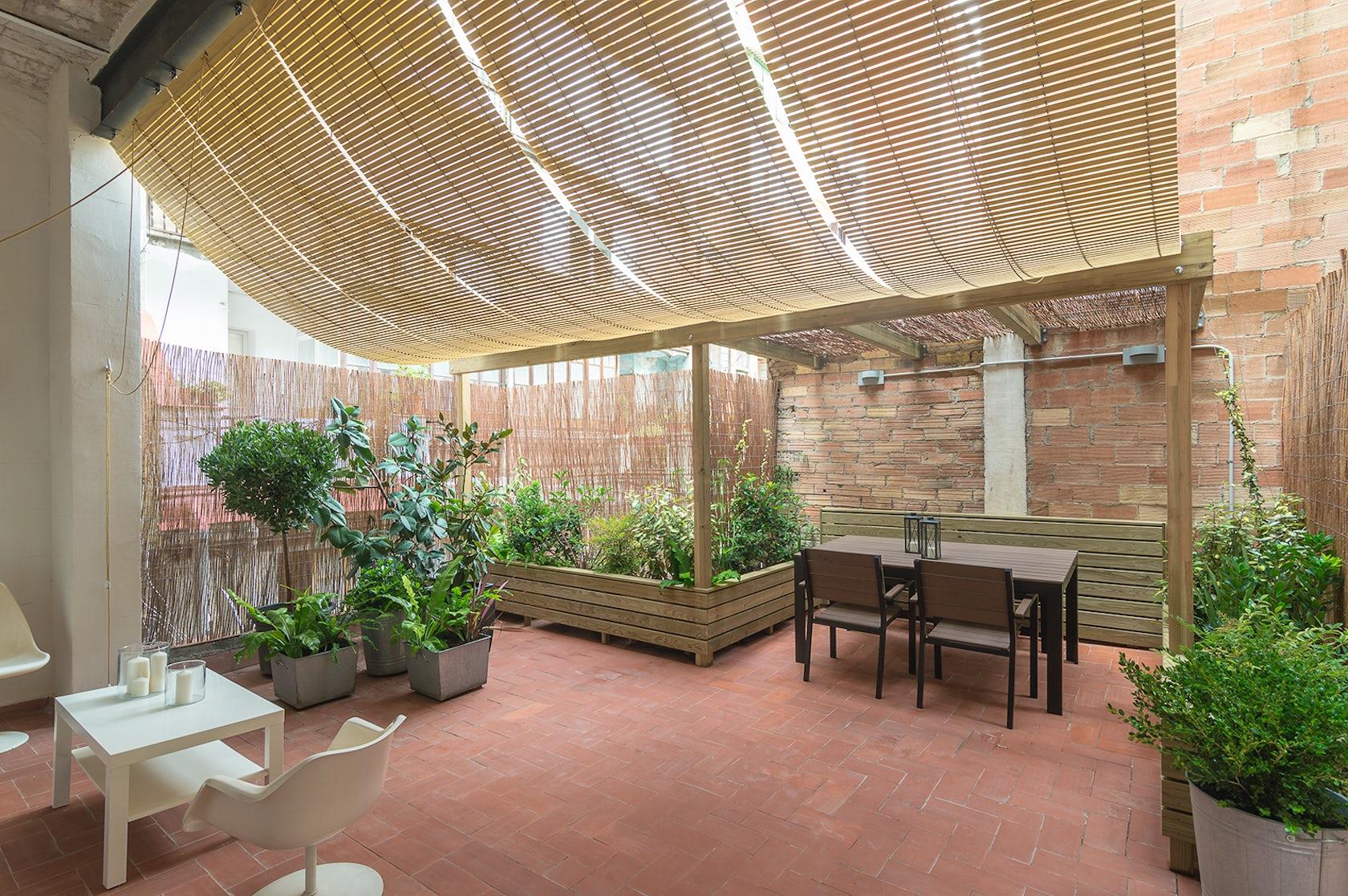 Terrassa a l 39 eixample architizer - Garden terrassa ...
