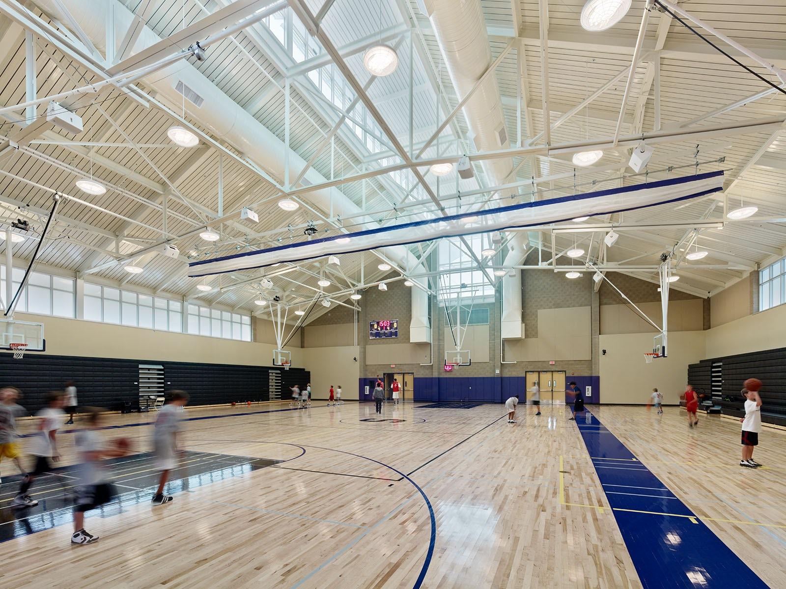 Sequoia High School New Gymnasium Architizer