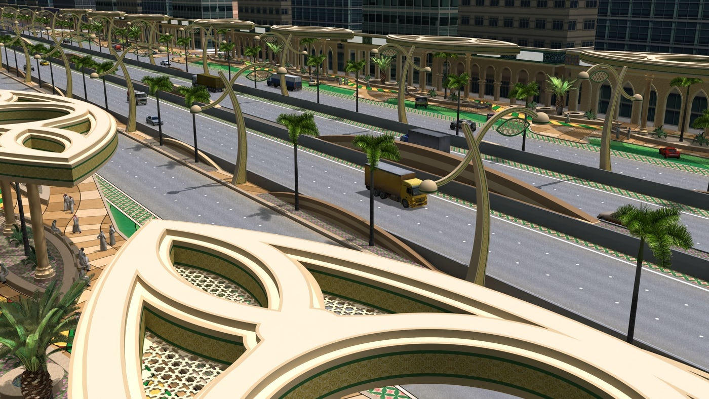 Dirab Road Streetscape - Architizer