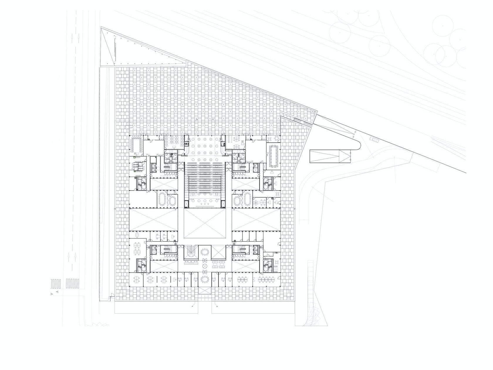 chambre des m tiers et de l artisanat architizer. Black Bedroom Furniture Sets. Home Design Ideas