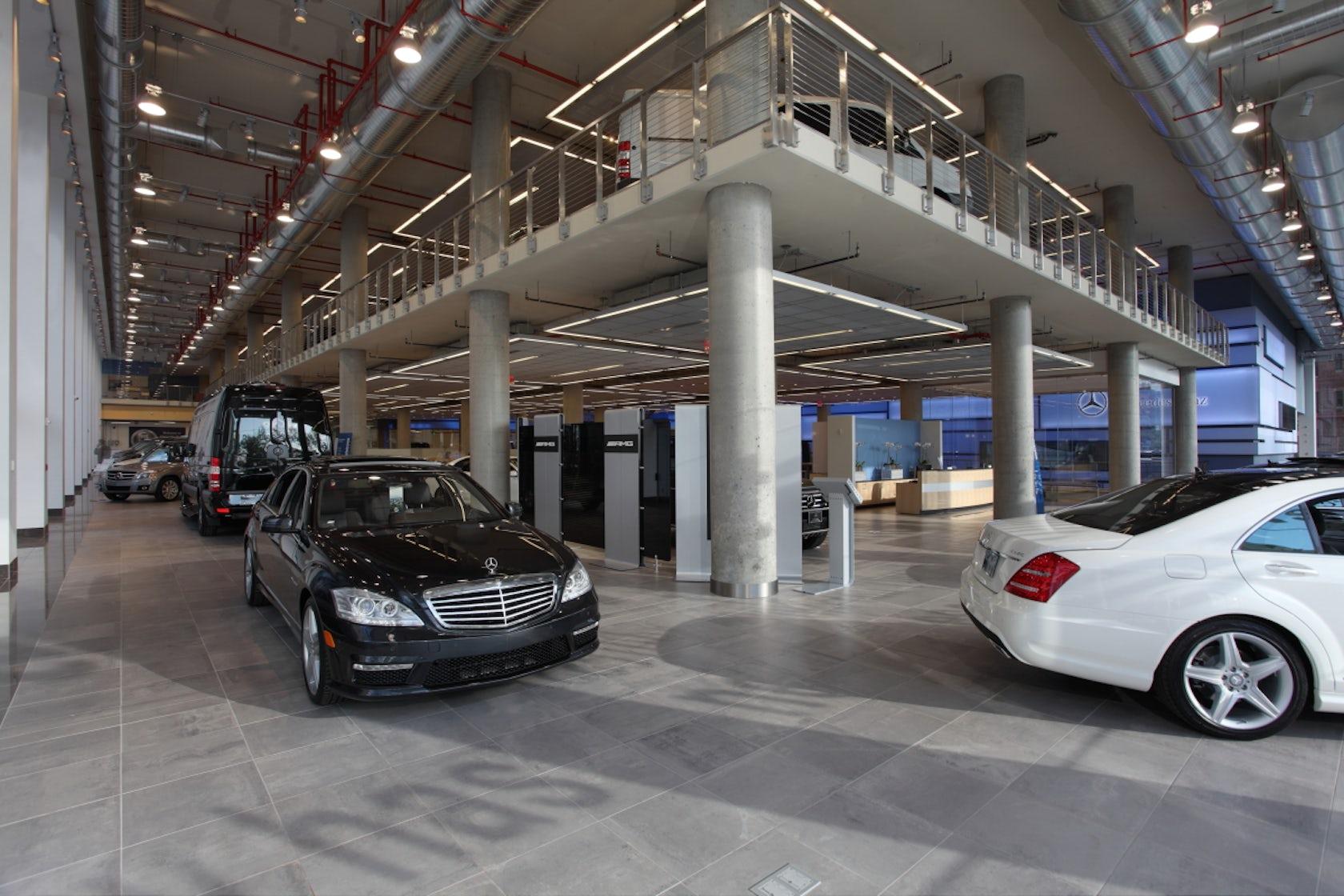 Mercedes Benz Manhattan Architizer