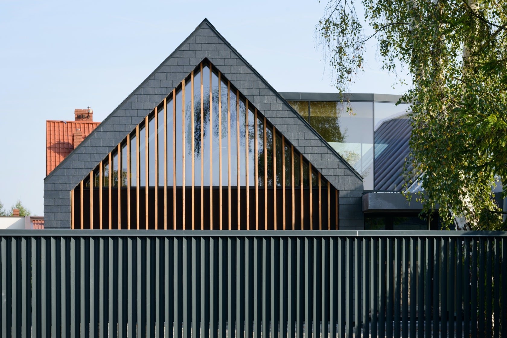 Two barns house on architizer