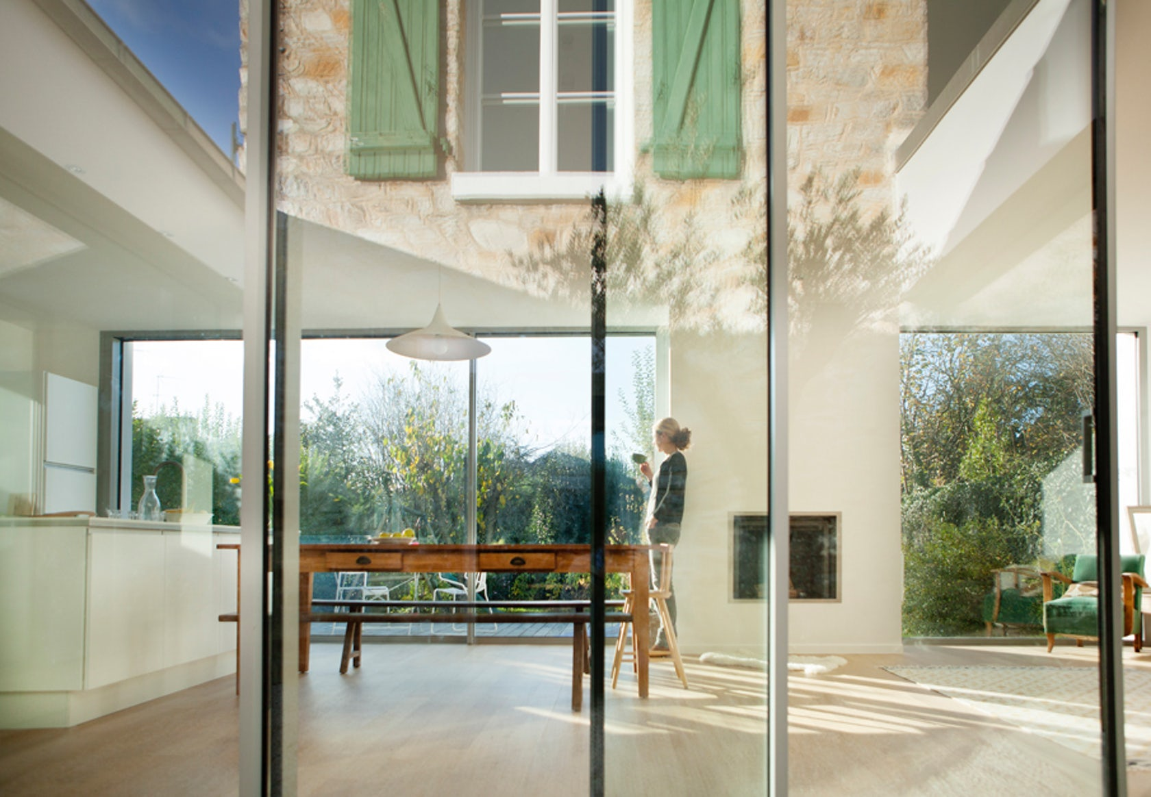 patio architizer. Black Bedroom Furniture Sets. Home Design Ideas