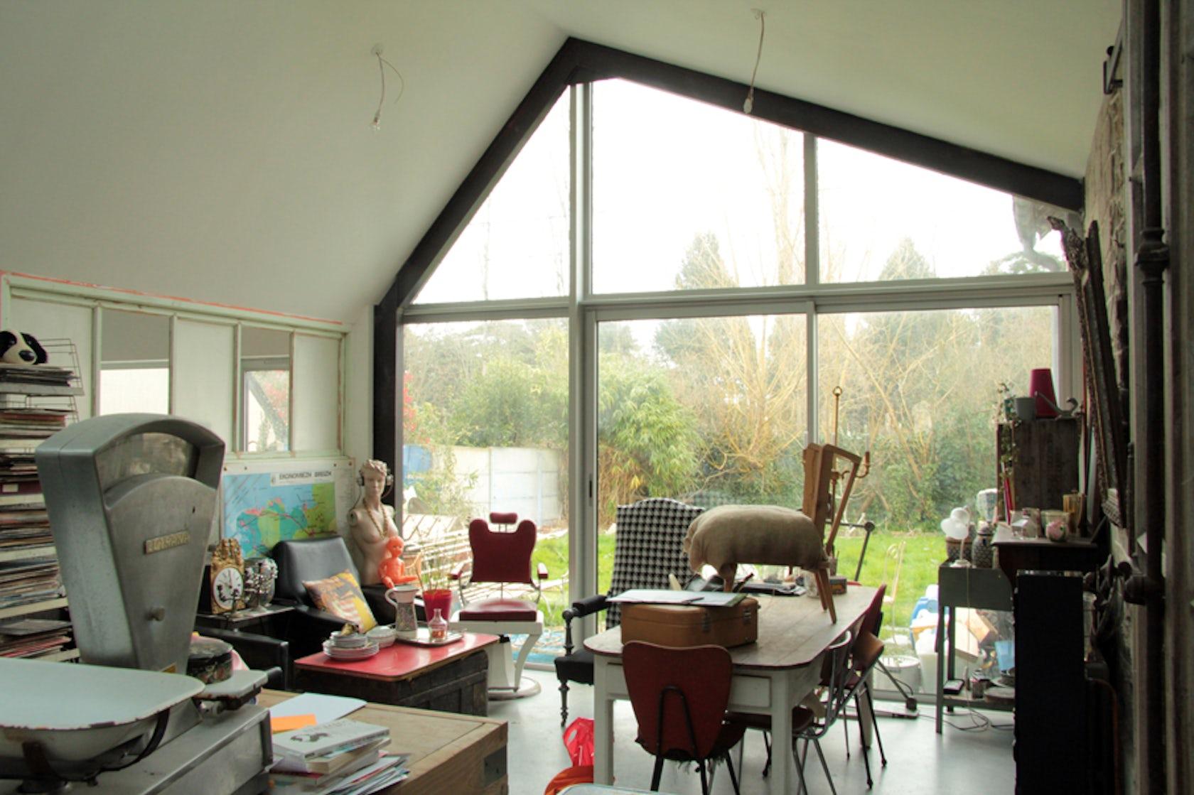 rusty architizer. Black Bedroom Furniture Sets. Home Design Ideas
