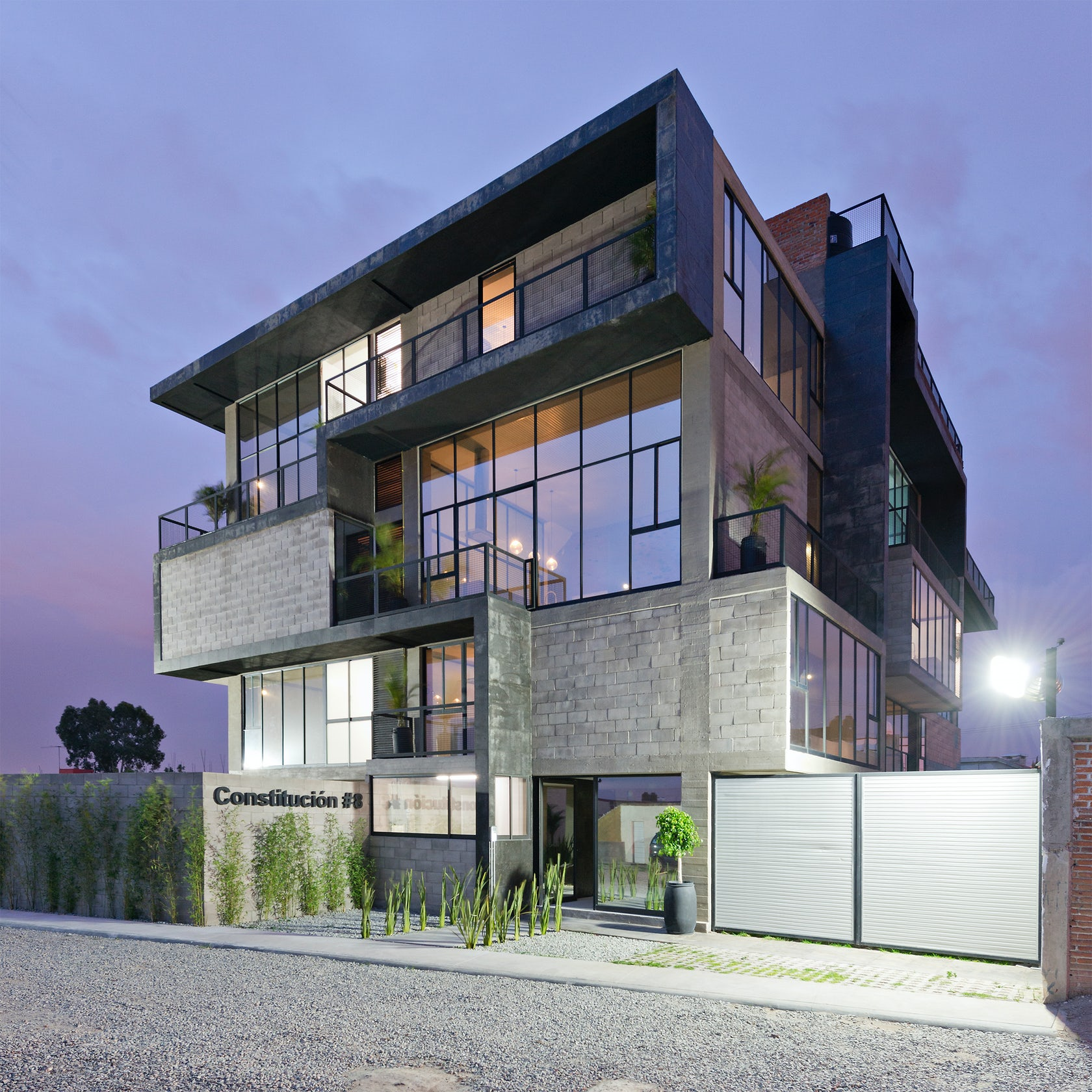 Urban Living 8 Modern Apartment Buildings In Mexico Architizer