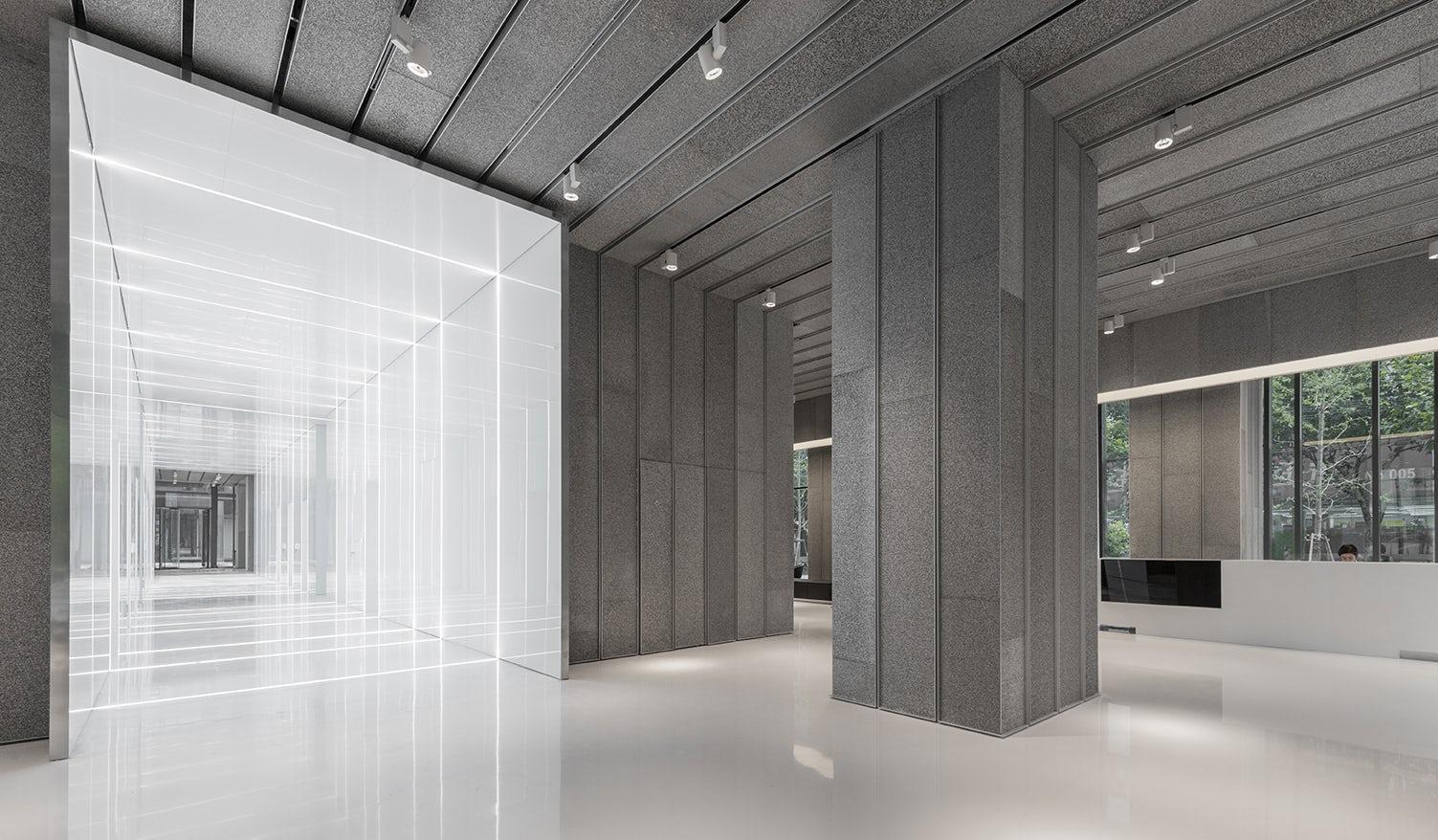 Aluminum Lobby In Soho Fuxing Plaza Architizer