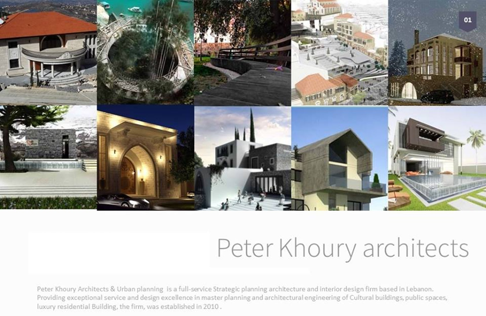 Peter Khoury Architects Urban Planning On Architizer