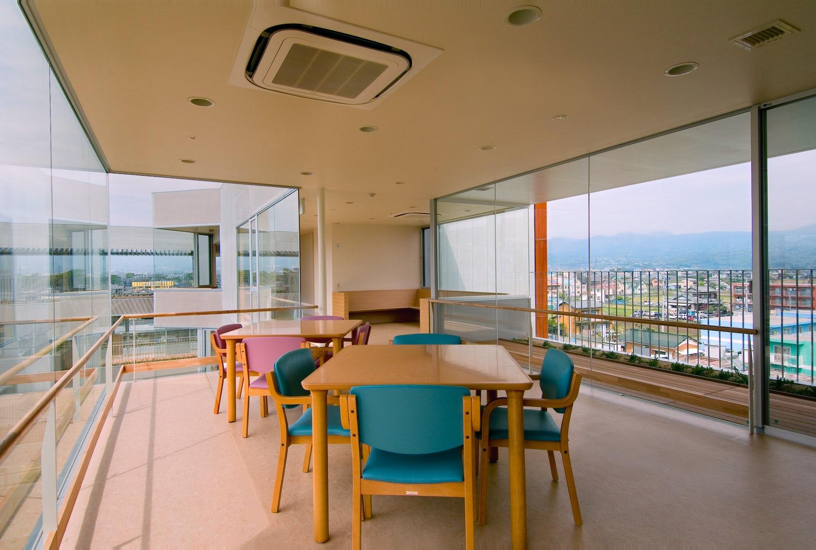 idu terrace nursing home for the elderly architizer