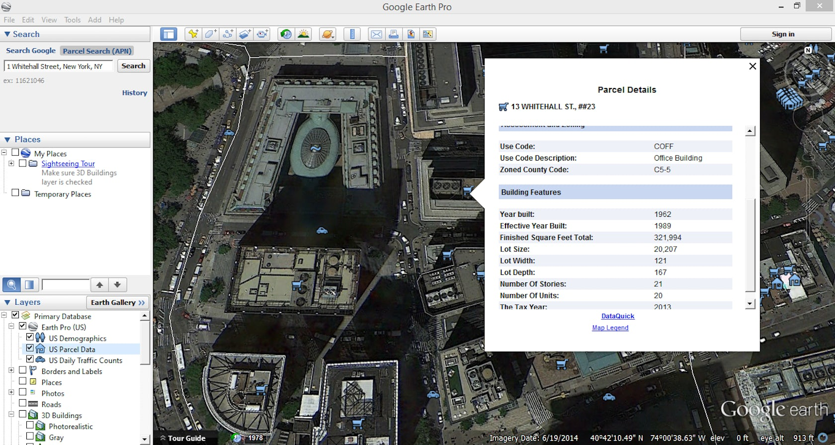 Google Earth Pro Is Now Free Architizer - Nyc subway map google earth