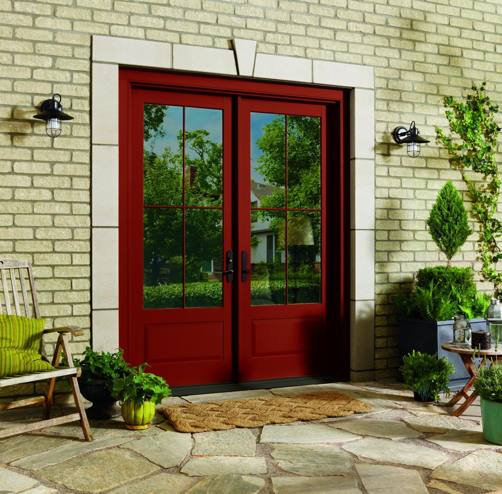 Marvin exterior doors modern contemporary doors marvin for Marvin ultimate swinging screen door