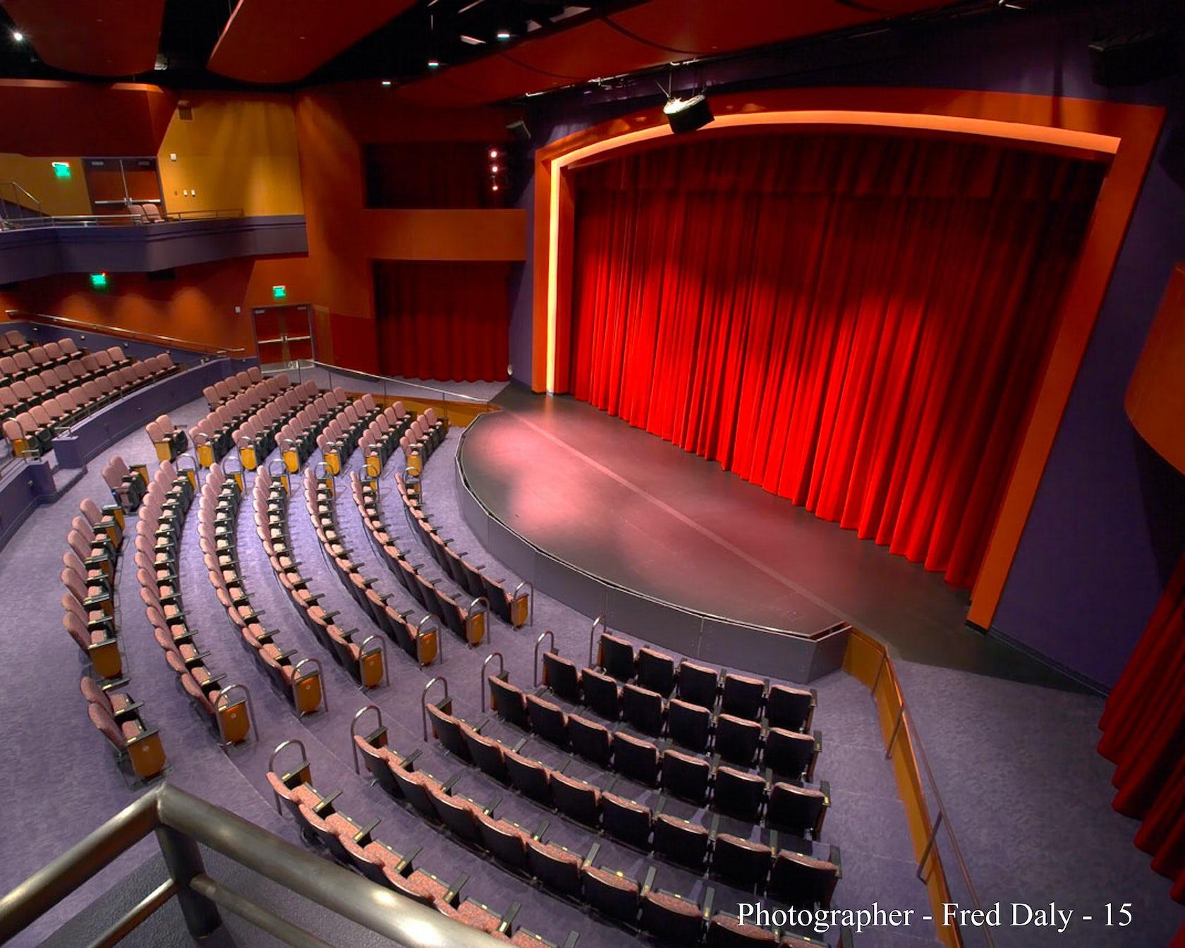 Victoria gardens cultural center architizer for Victoria gardens movie theater