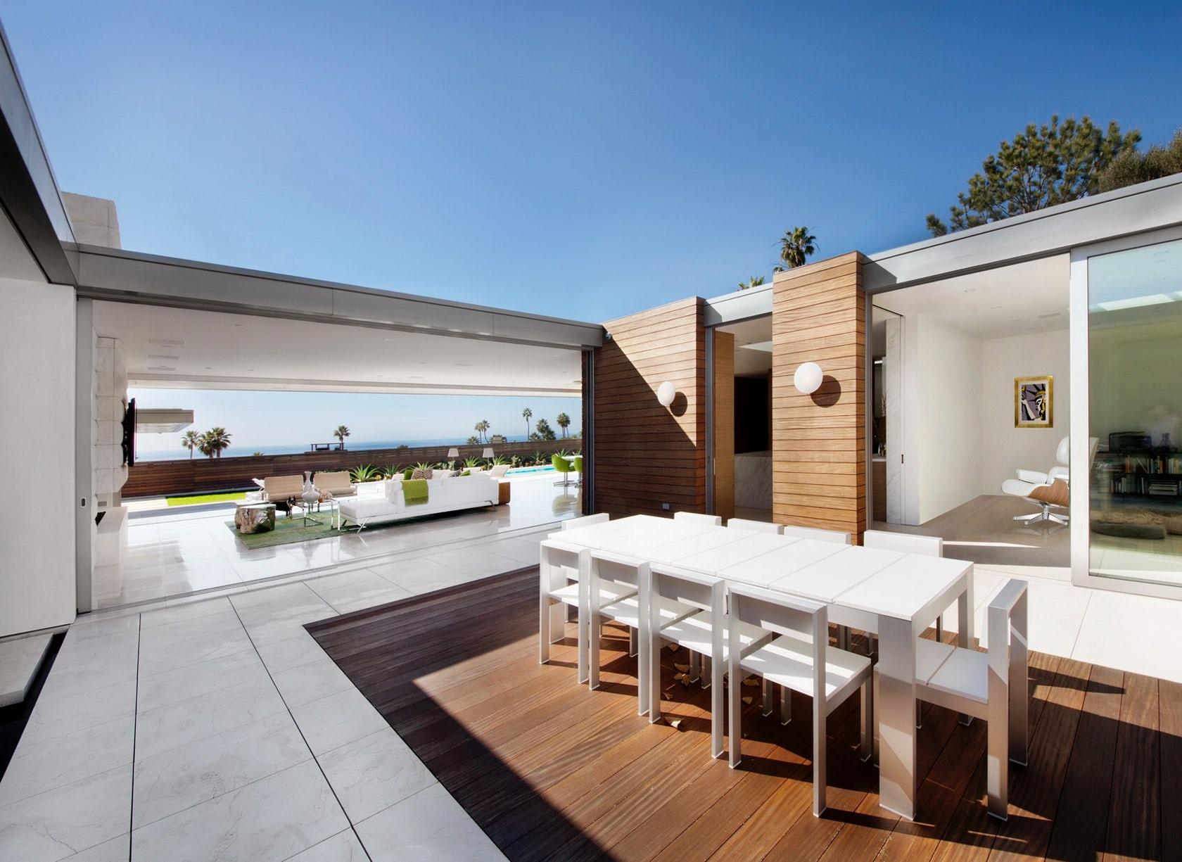 Mcelroy residence architizer - Limposante residence contemporaine de ehrlich architects ...