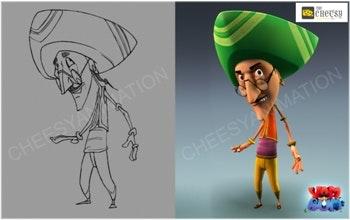 2D 3D Cartoon Animation Services