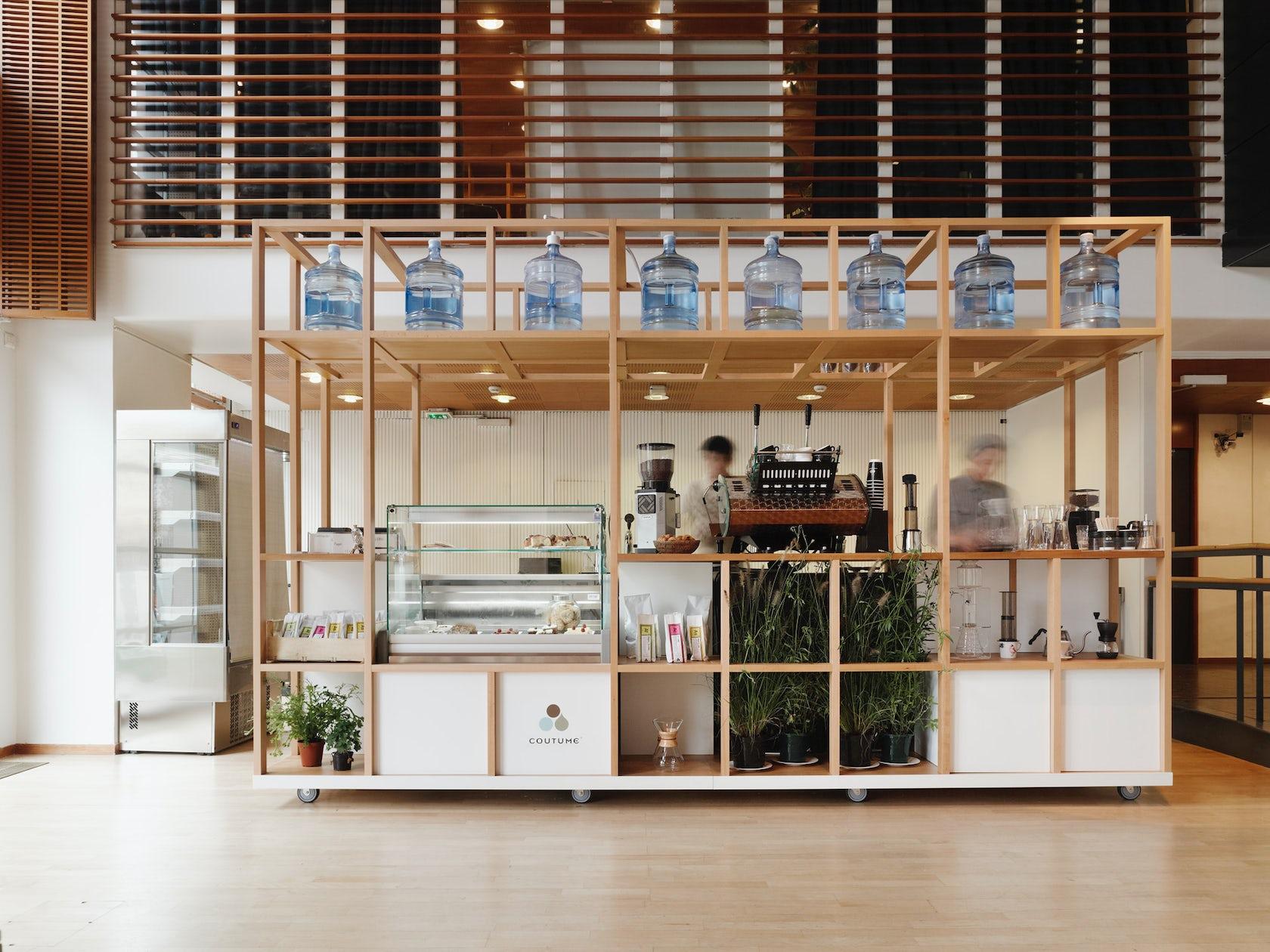 coutume cart paris finnish institute architizer. Black Bedroom Furniture Sets. Home Design Ideas