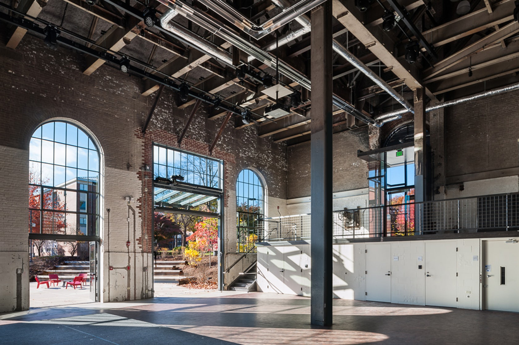 Amherst College Powerhouse Student Event Space Architizer