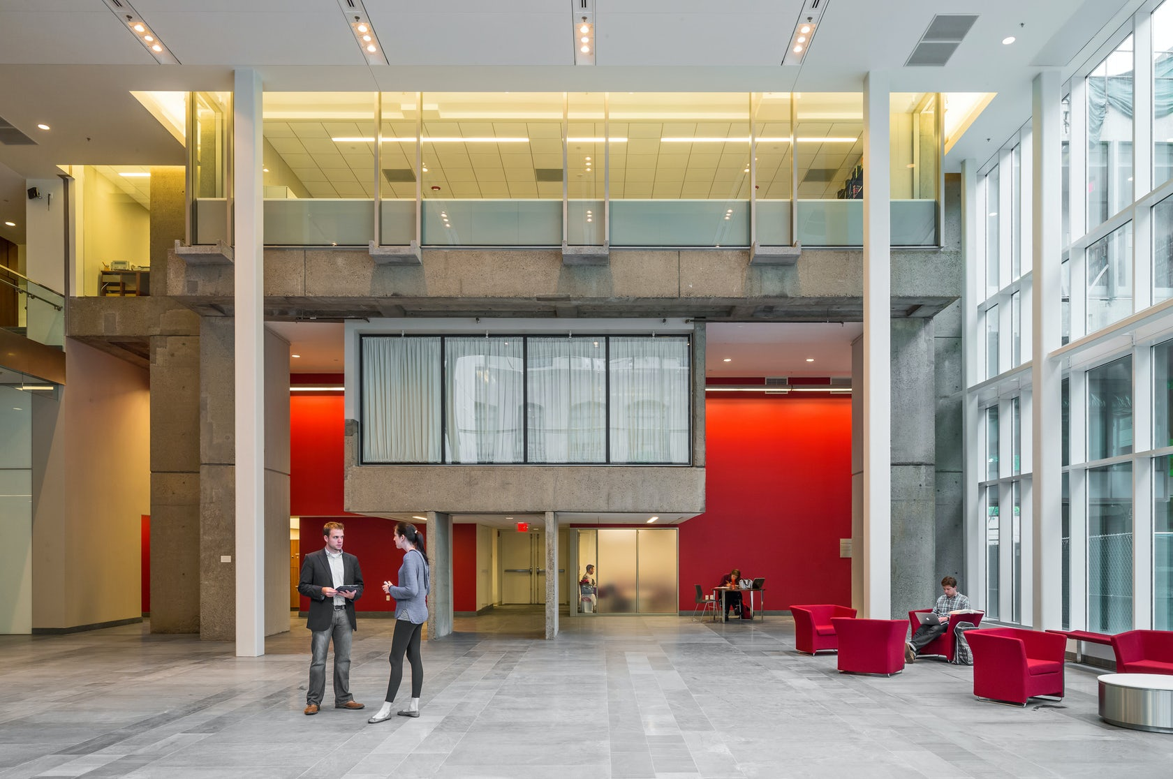 Boston university school of law phase i architizer for College street motors amherst ma