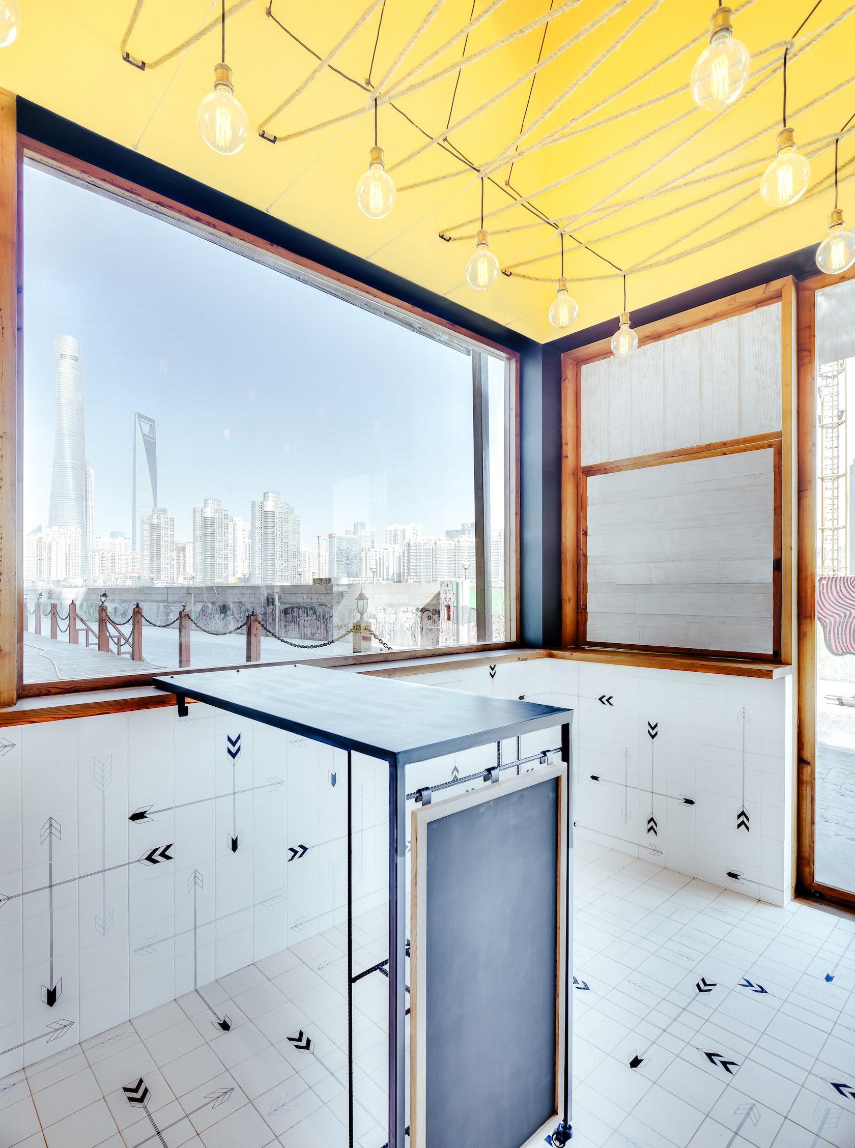 lone ranger hot dog shop architizer. Black Bedroom Furniture Sets. Home Design Ideas