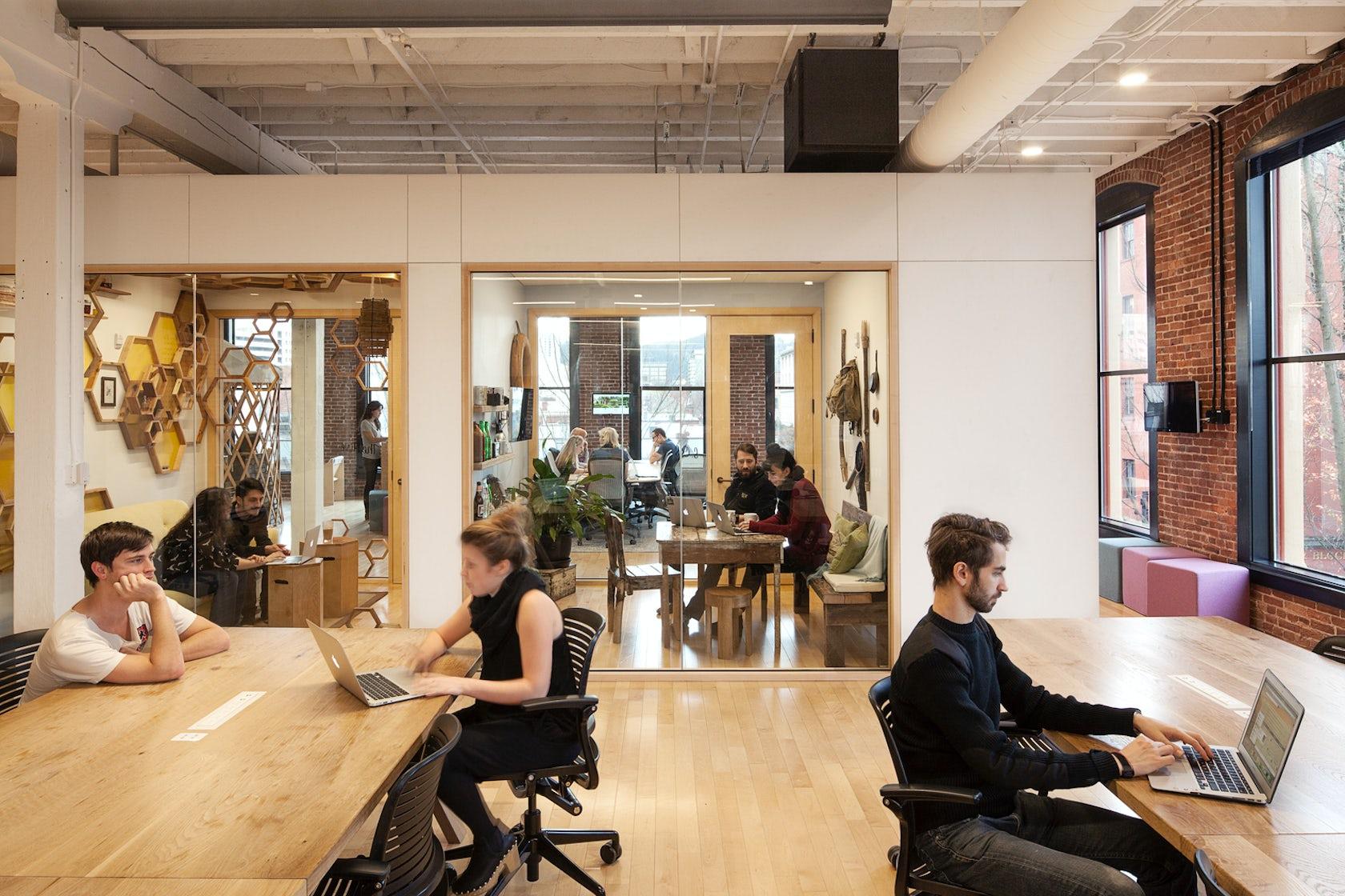 Airbnb Portland Office Architizer