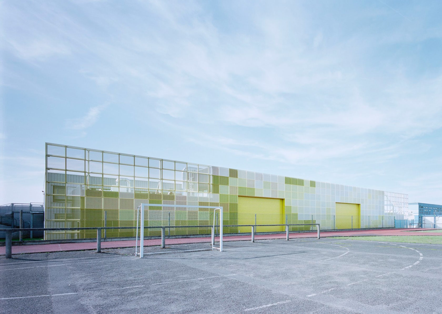 Highschool extension architizer for Architecte coulommiers