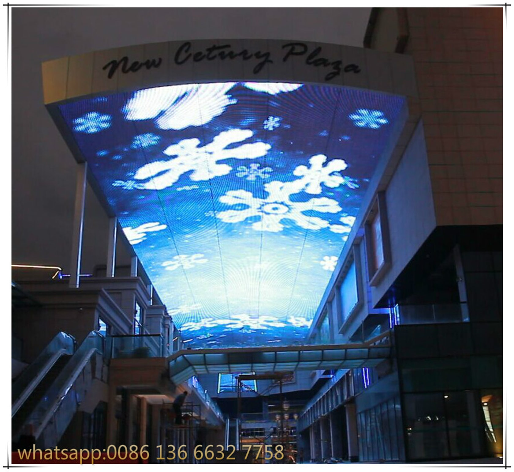 Indoor Outdoor Full Color Led Video Wall Led Curtain