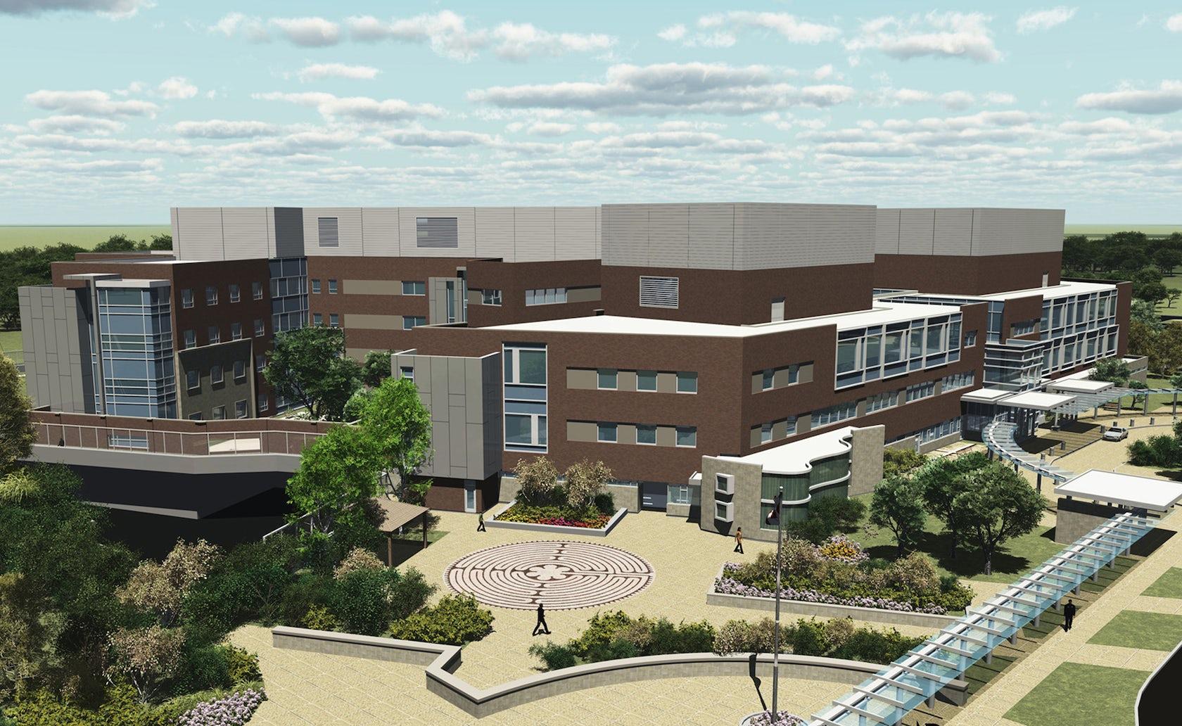 Parkwood Institute Mental Health Care Building - Architizer