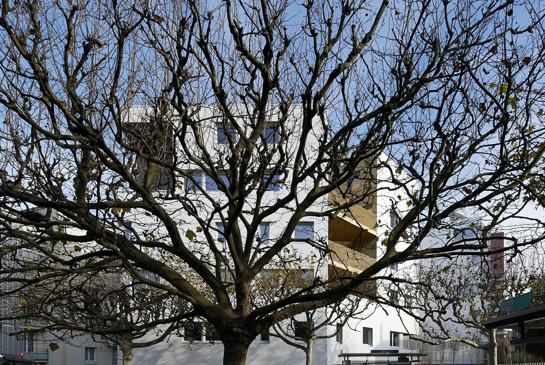 Social housing in Montreuil sous Bois Architizer # Assistante Sociale Aulnay Sous Bois