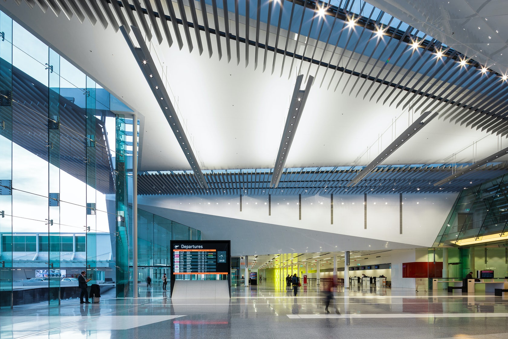 Canberra international airport architizer for Architecture firms canberra