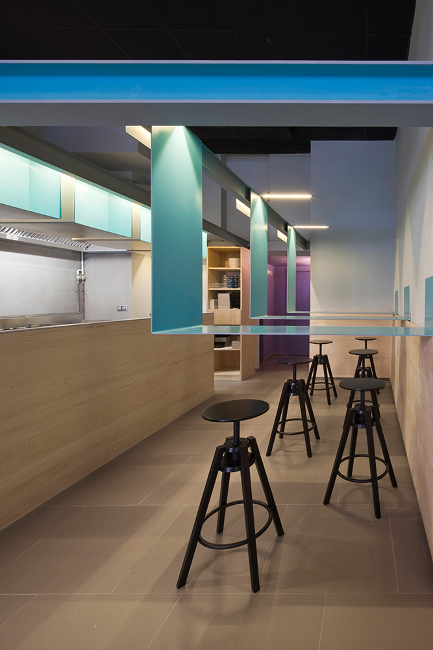 Interior design for a restaurant in girona architizer