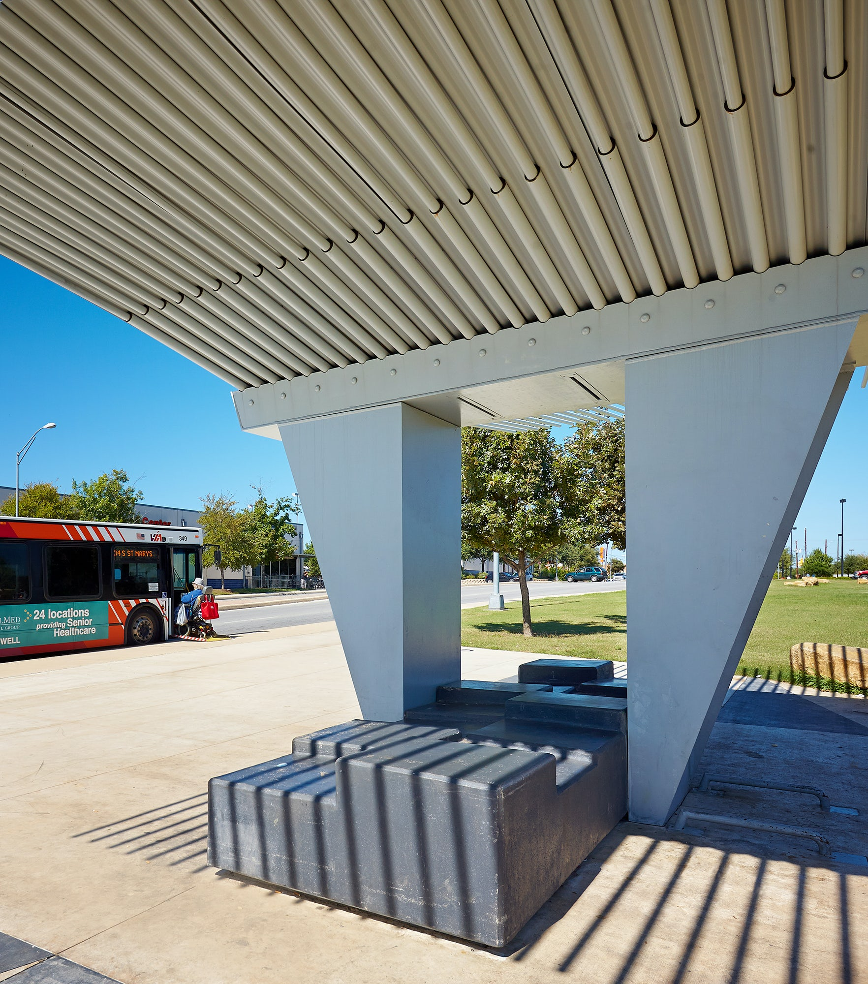Via Bus Stop Architizer