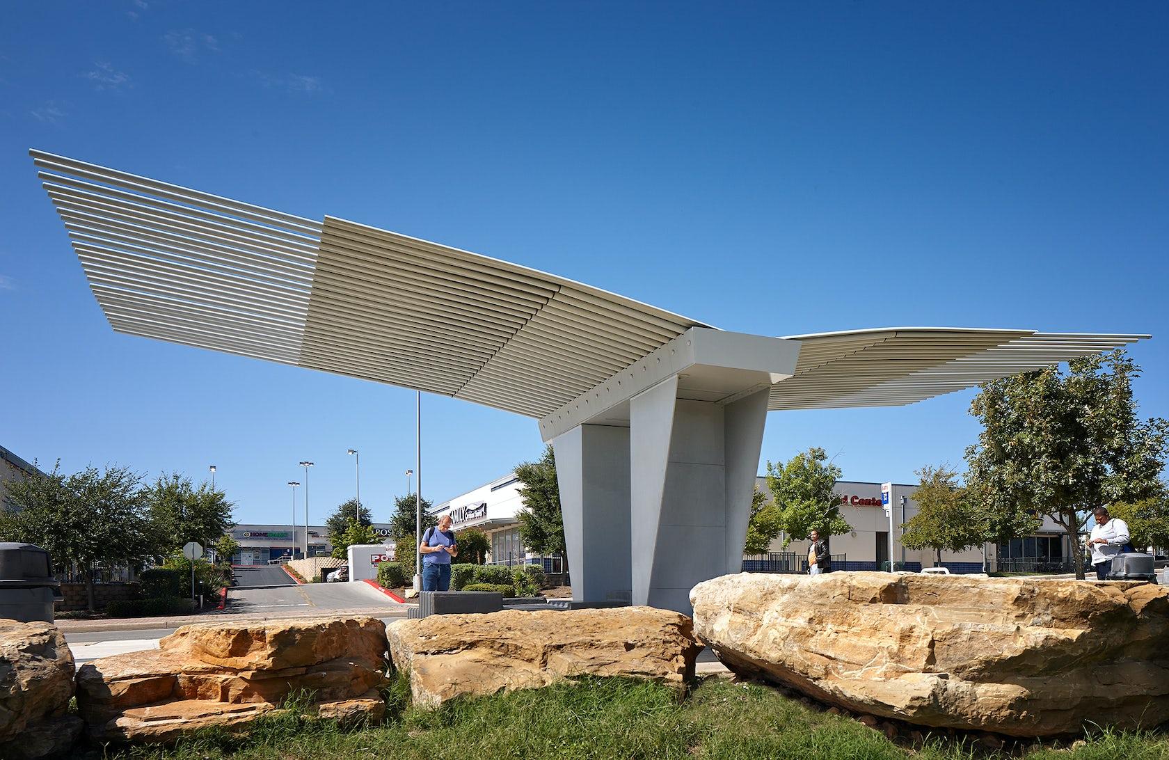 Via Bus Stop Architizer